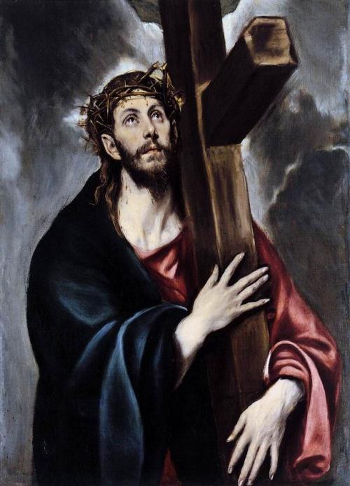 Αν δείτε ισχνά, σχεδόν αιχμηρά πρόσωπα με γένια, τότε βλέπετε πίνακα του El Greco.