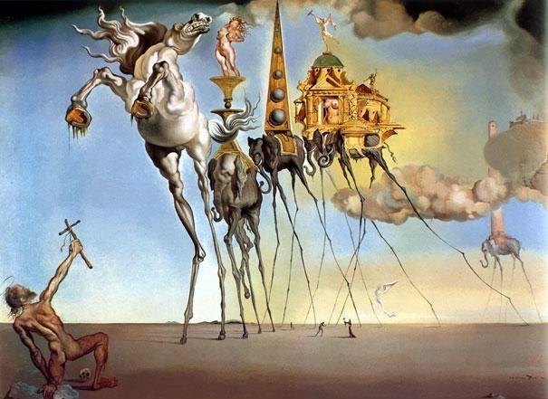 Αν ο πίνακας μοιάζει με εικόνα σαν αυτές που είδατε όταν μεθύσατε χτες βράδυ, είναι Νταλί.
