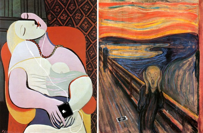 Το όνειρο, Pablo Picasso, 1932 | Η κραυγή, Edvard Munch, 1893