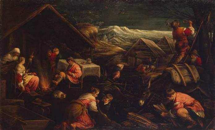 Francesco BASSANO,  χειμώνας 1577-78