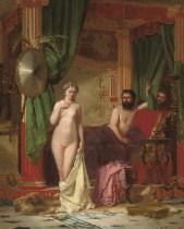 Ο Γύγης και η γυναίκα του Κανδαύλη