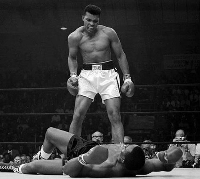 Το περίφημο νοκ άουτ του Muhammad Ali στον Sonny Liston, στις 25 Μαΐου του 1965 στο Lewiston του Maine