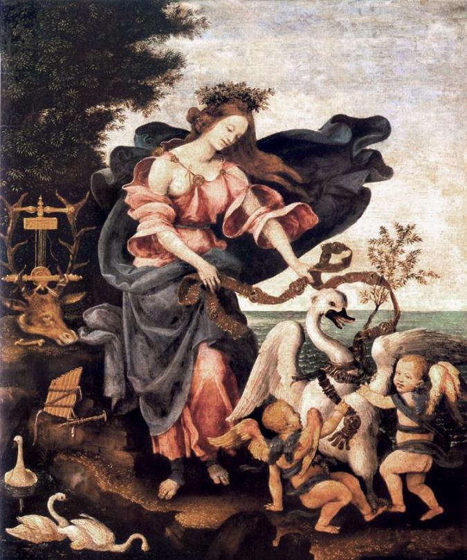 Αλληγορία της μουσικής ή Ερατώ Filippino Lippi - 1500