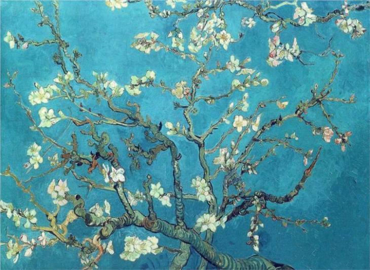 κλαδιά ανθισμένης αμυγδαλιάς - Vincent van Gogh 1890
