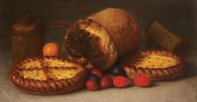 πασχαλιάτικο φαγητό Constantin Stahi 1916