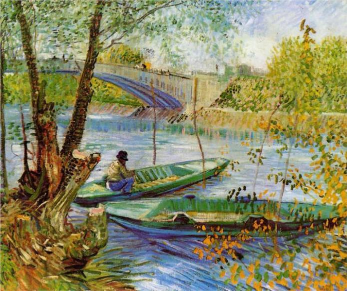 Ψάρεμα την Άνοιξη 1887
