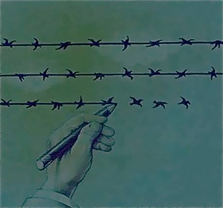 The Difference Between Freedom and Slavery Is One Thin Line.