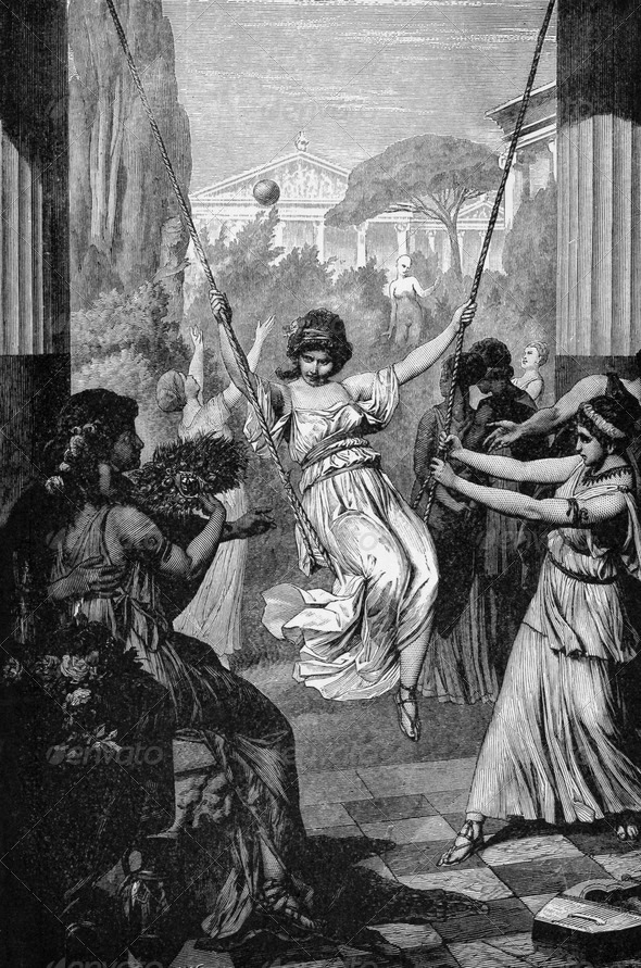 Sports of Ancient Greek Girls