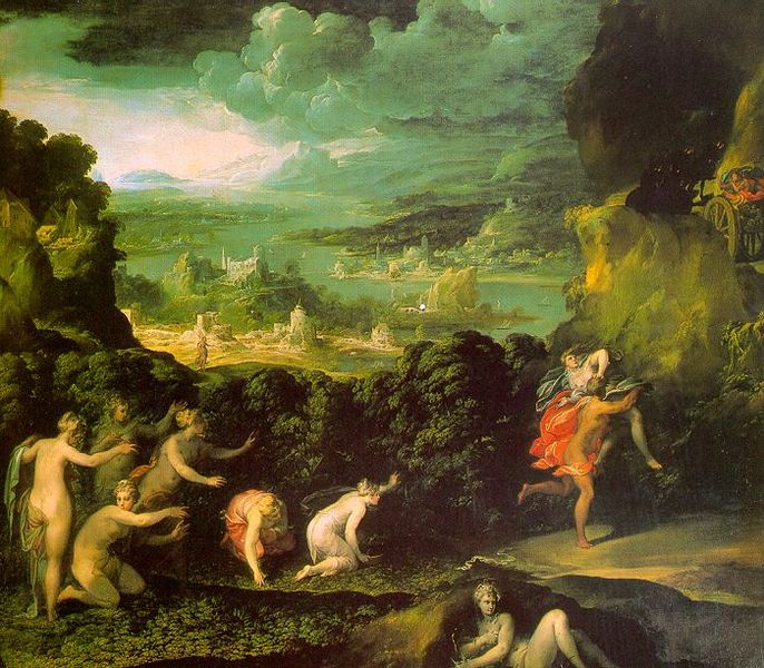 Περσεφόνη - Nicolò dell'Abate, 16ου αιώνα