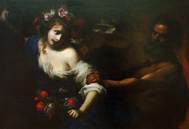 H αρπαγή της Περσεφόνης Simone Pignoni, 1650.