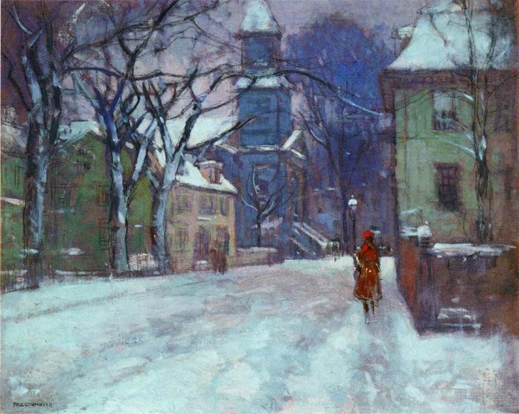 Δεκέμβριος - Γκλούσεστερ - Paul Cornoyer - περίπου 1916