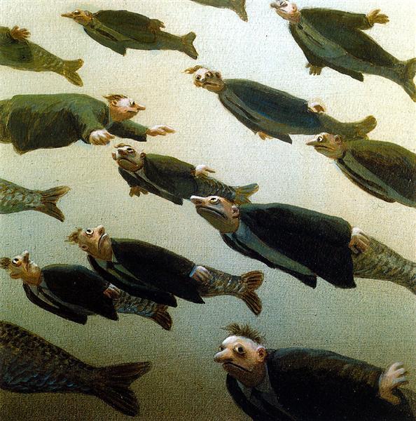 Σχολείο ψαριών - Michael Sowa