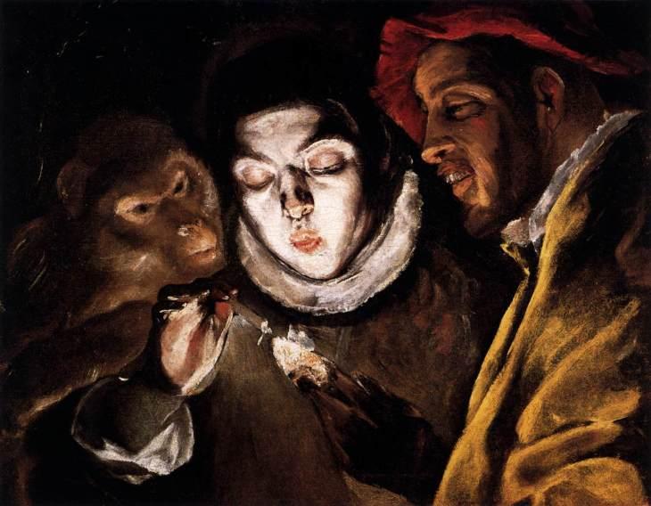 Μύθος ή Αλληγορία, το Αγόρι που ανάβει κερί, ένας πίθηκος κι ένας ανόητος 1590
