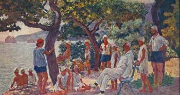 september-morning-in-artek-soloviev-and-artekovtsy-1929b