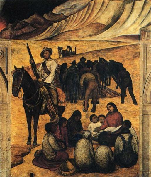 το νέο σχολείο - Diego Rivera 1923