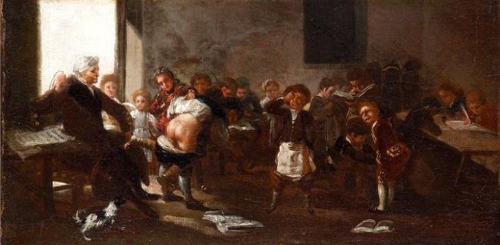 Σχολική σκηνή - Francisco Goya