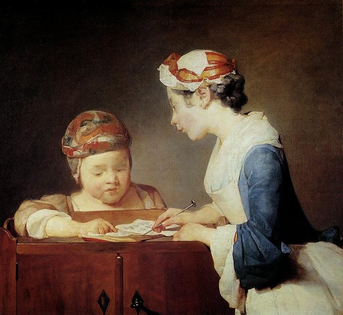 Η νεαρή δασκάλα - Jean Baptiste Simeon Chardin