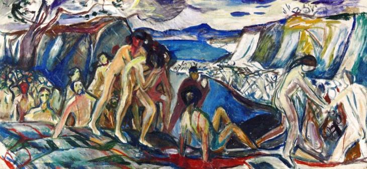 Πόλεμος - Edvard Munch - -1919