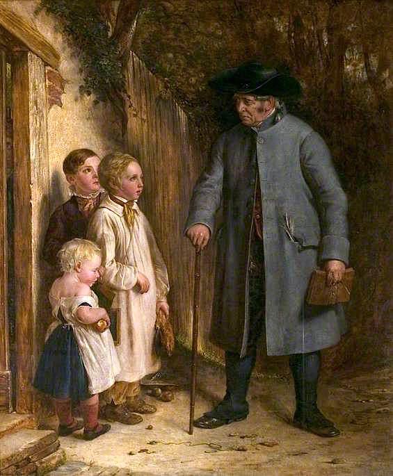 ο δάσκαλος του χωριού - Charles West Cope - 1842