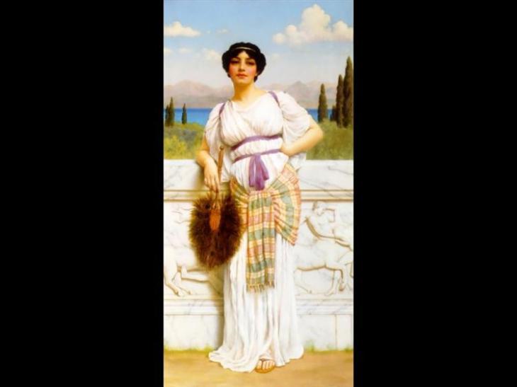 ελληνική ομορφιά -John William Godward 1905