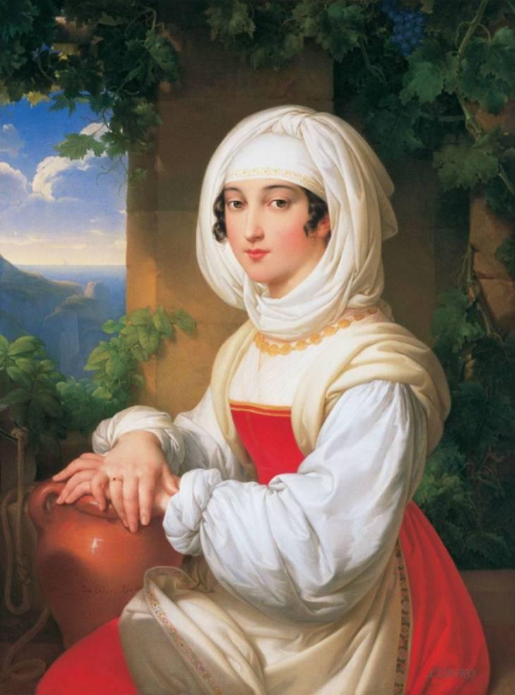 Ελληνίδα Johann Nepomuk Ender - 1821