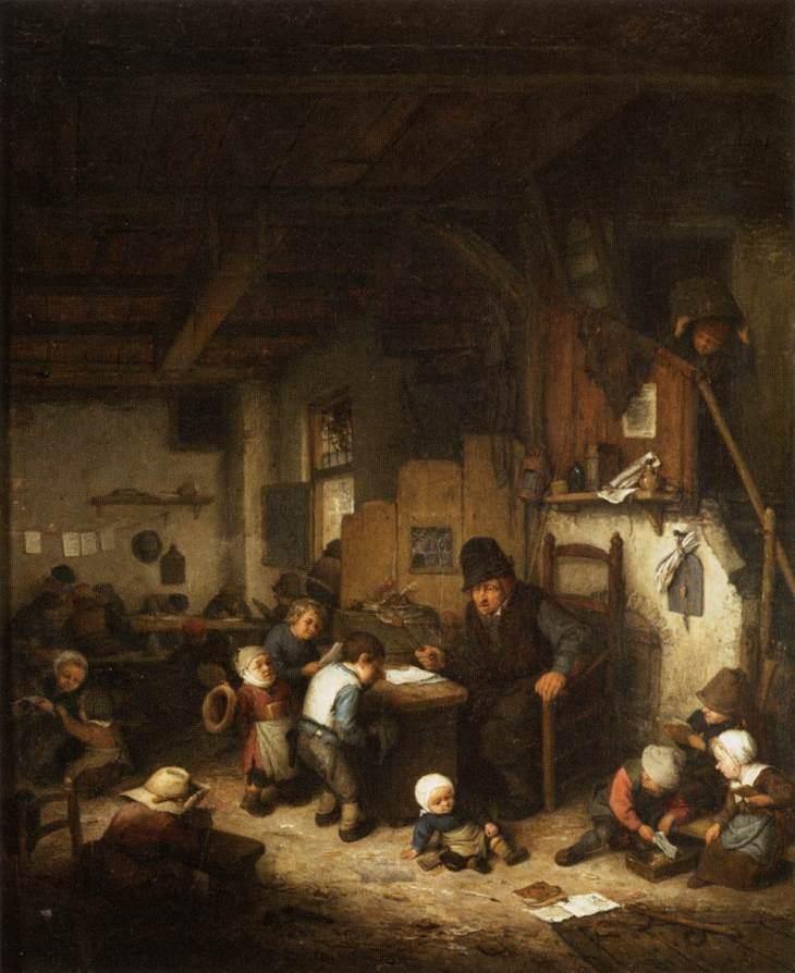 Ο δάσκαλος- Adriaen van Ostade 1662