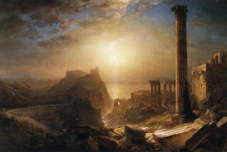 Συρία από τη Θάλασσα - Frederic Edwin Church - 1873