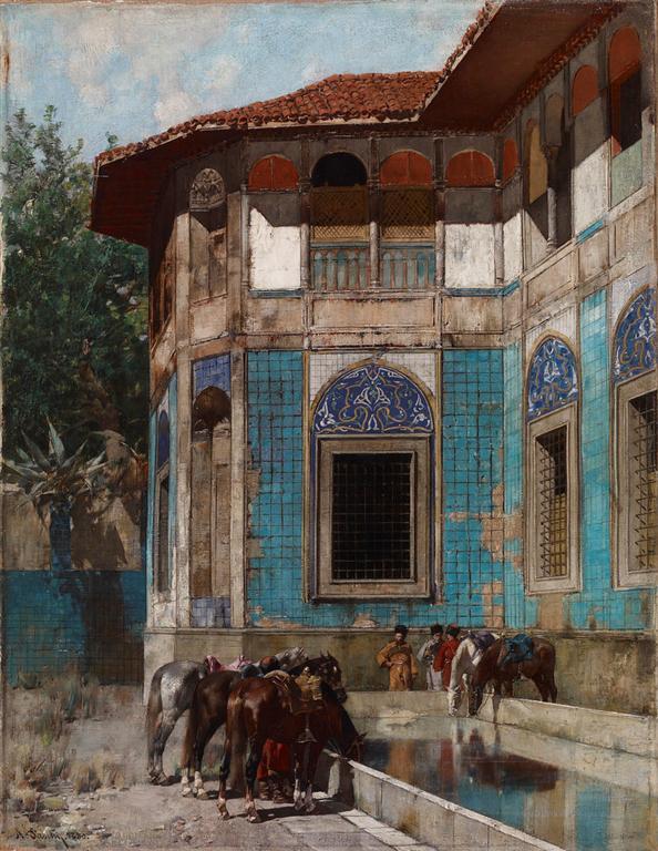 Δαμασκός - Alberto Pasini - 1880
