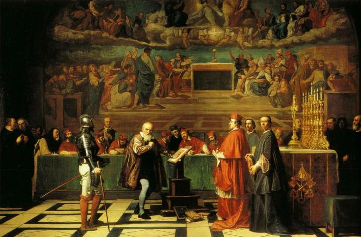 O Γαλιλαίος στην Ιερά εξέταση -Joseph-Nicolas Robert-Fleury - 1847