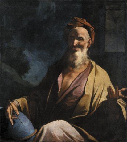 ο Δημόκριτος γελά - Giuseppe Antonio Petrini 1750
