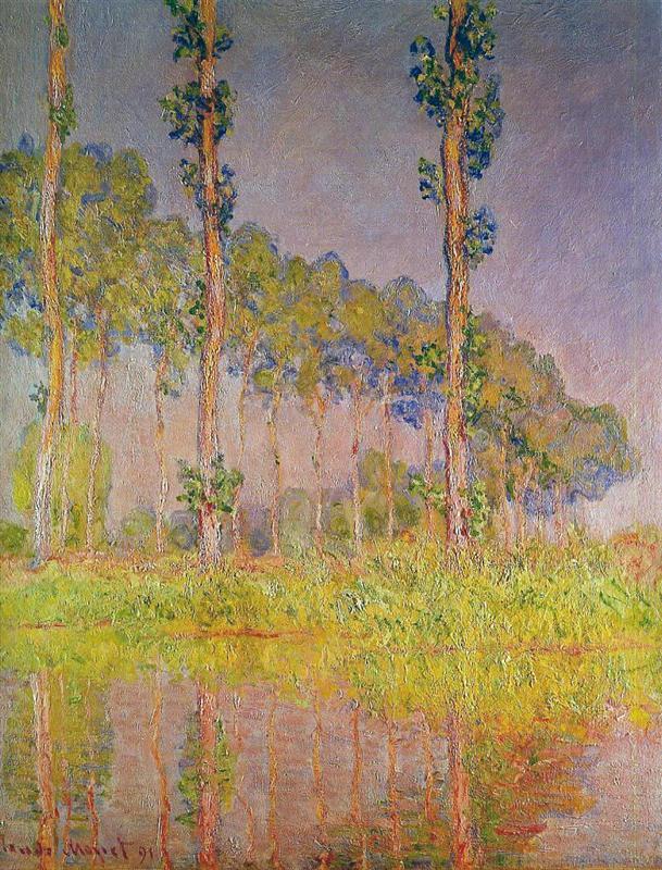 Τρία δέντρα την άνοιξη 1891