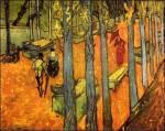 """O Γκογκέν συναντά τον φίλο του Βαν Γκογκ και ζωγραφίζουν """"το πέσιμο των φύλλων"""""""