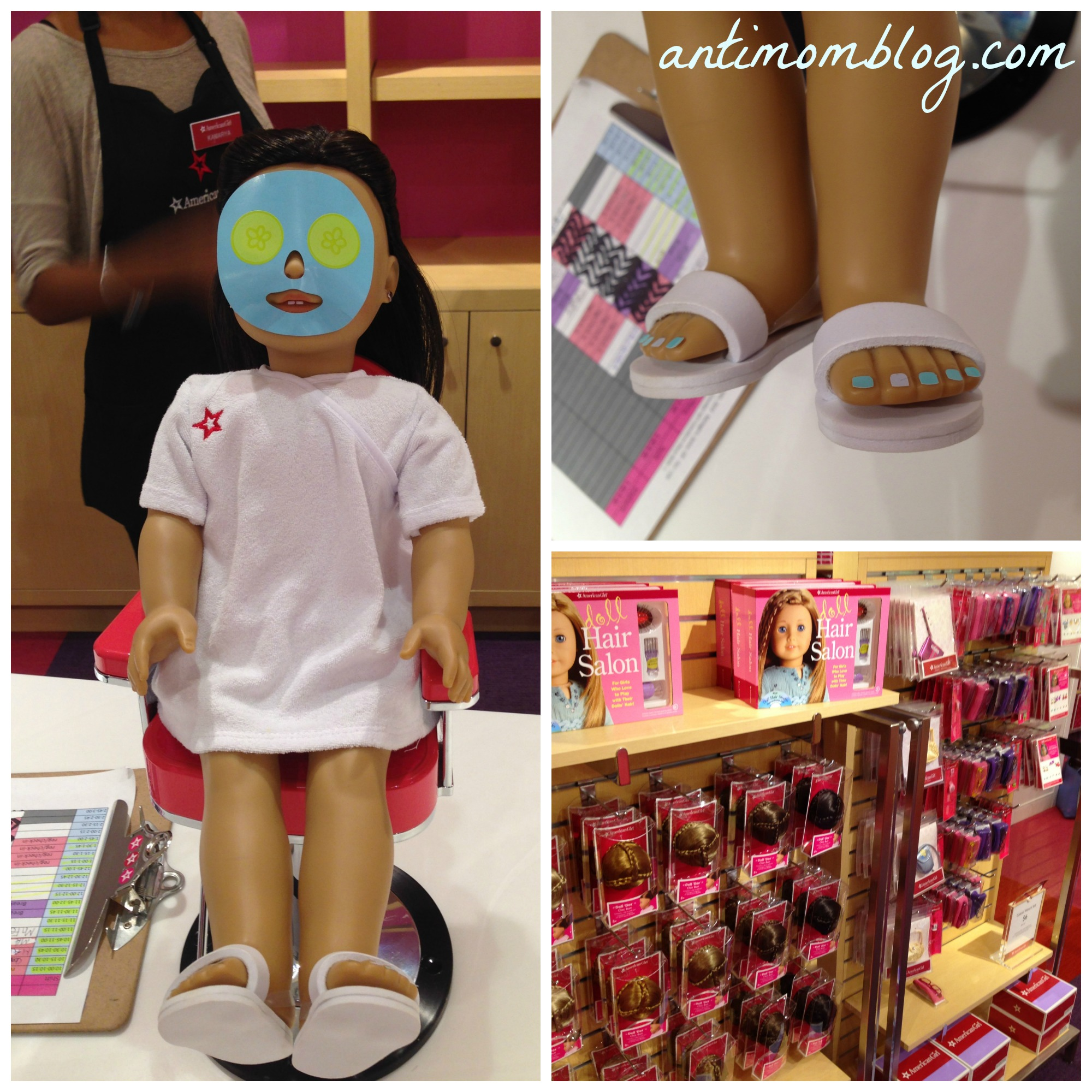 Lunching At American Girl Bistro At The Falls Miami The
