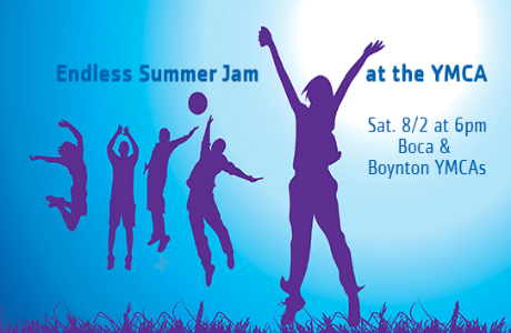 Endless Summer Jam at the YMCA's of South Palm Beach County!