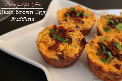 Breakfast for 2: Hash Brown Egg Muffins