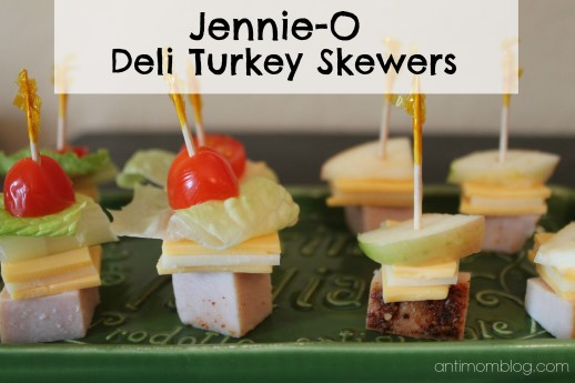 {Kid Approved} Jennie-O Deli Turkey Skewers