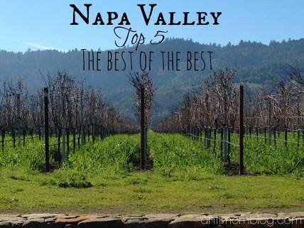 Napa Valley's Top 5