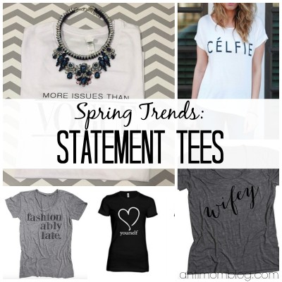 5 Statement Tees For Spring