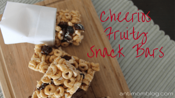 Cheerios Snack Bars