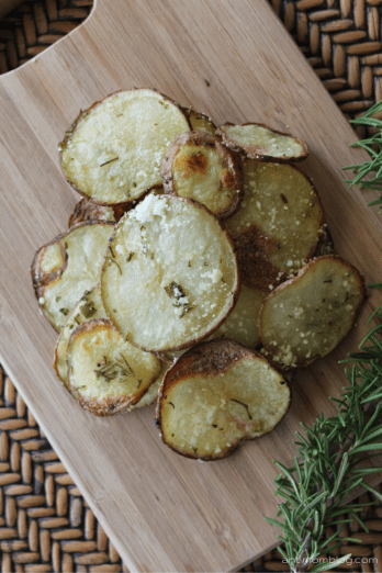 Parmesan Herb Potato Crisps | The Anti Mom Blog