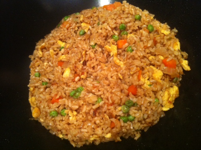Fried Brown Rice - The Anti Mom Blog