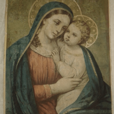 Madonna of Good Counsel - After restoration