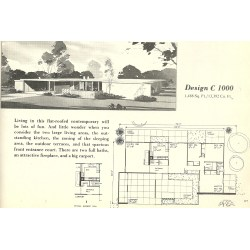 Small Crop Of Mid Century Modern House Plans