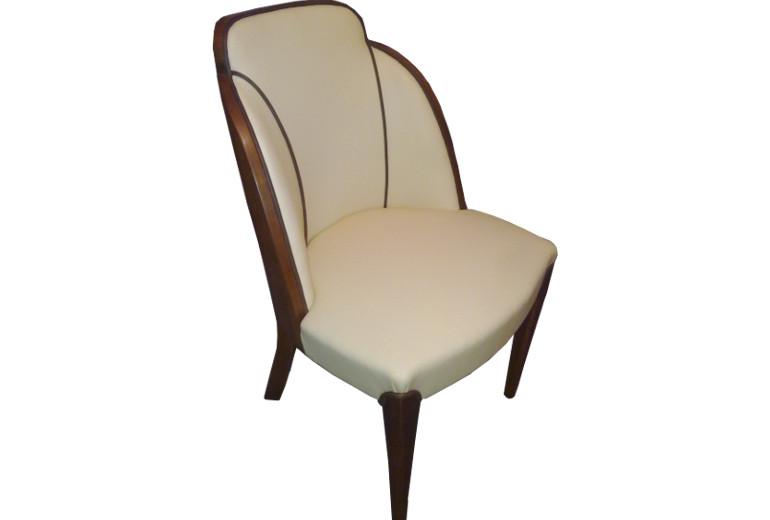art deco tub chairs ian wall furniture restoration. Black Bedroom Furniture Sets. Home Design Ideas