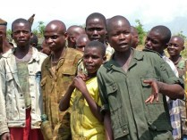 Former child soldiers in the Congo