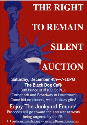 Right to Remain Silent Auction