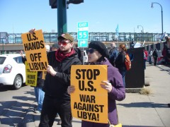 Stop US Bombing of Libya!