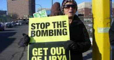 We say no to war with Libya