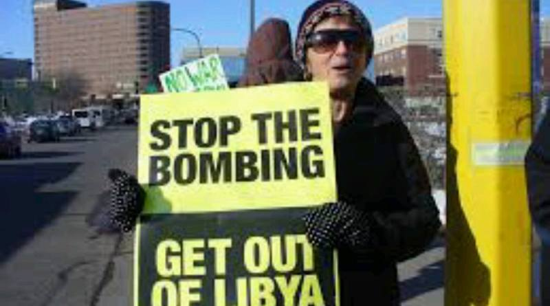 Protest to Say NO to Endless War & US Attack on Libya