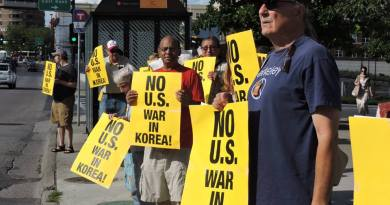 The Anti-War Committee Demands an End to War Threats Against North Korea, and Self-Determination for the Korean People!